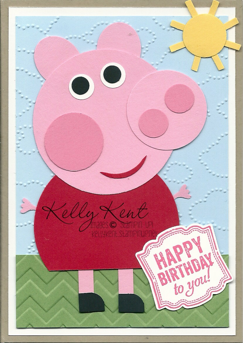 Me Peppa Pig And 3rd Birthday Parties Kelly Kent