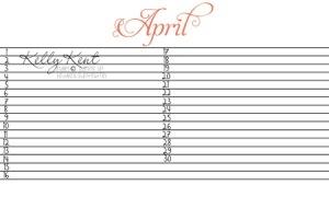 MDS Layout for Birthday Calendar