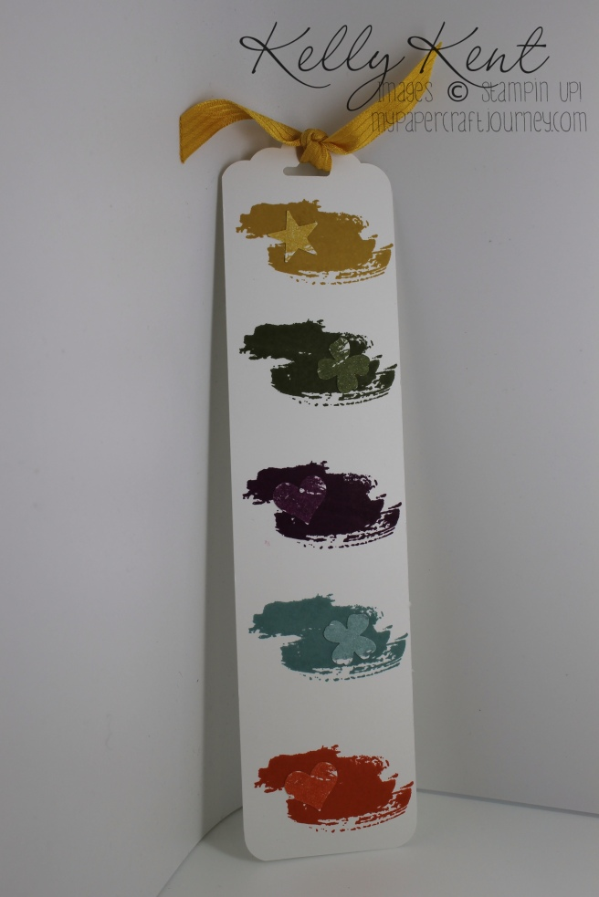 Bookmark using new in colours