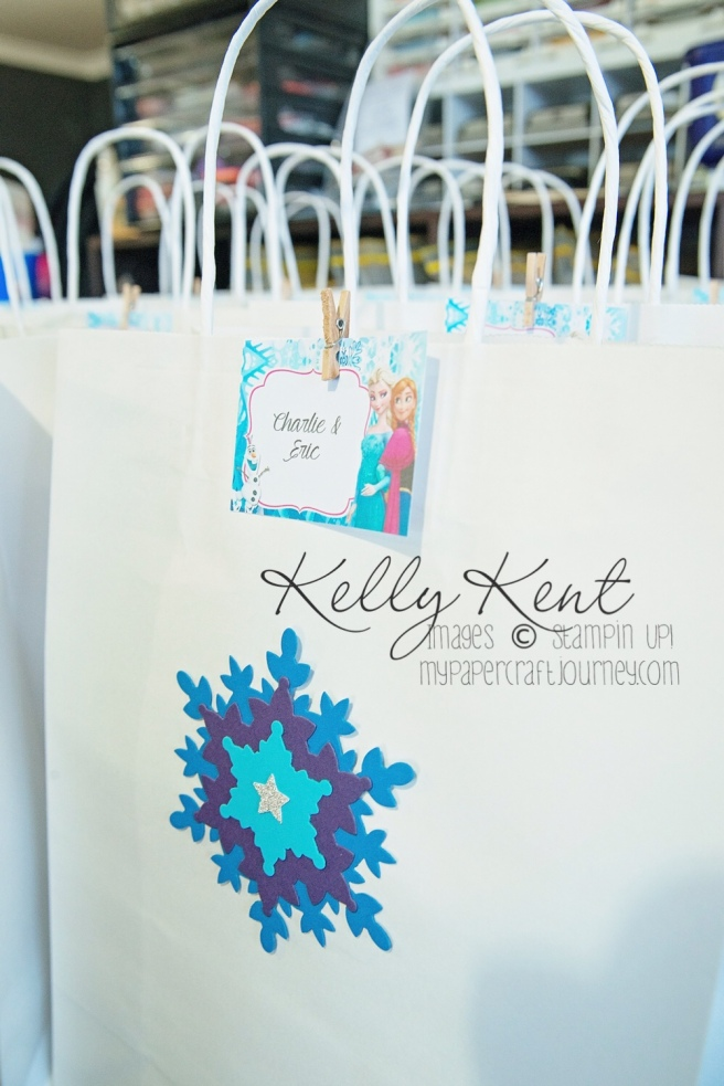 Snowflake Party Bags
