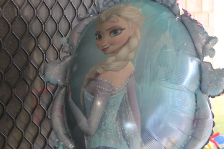 Giant Elsa & Anna Helium Balloon