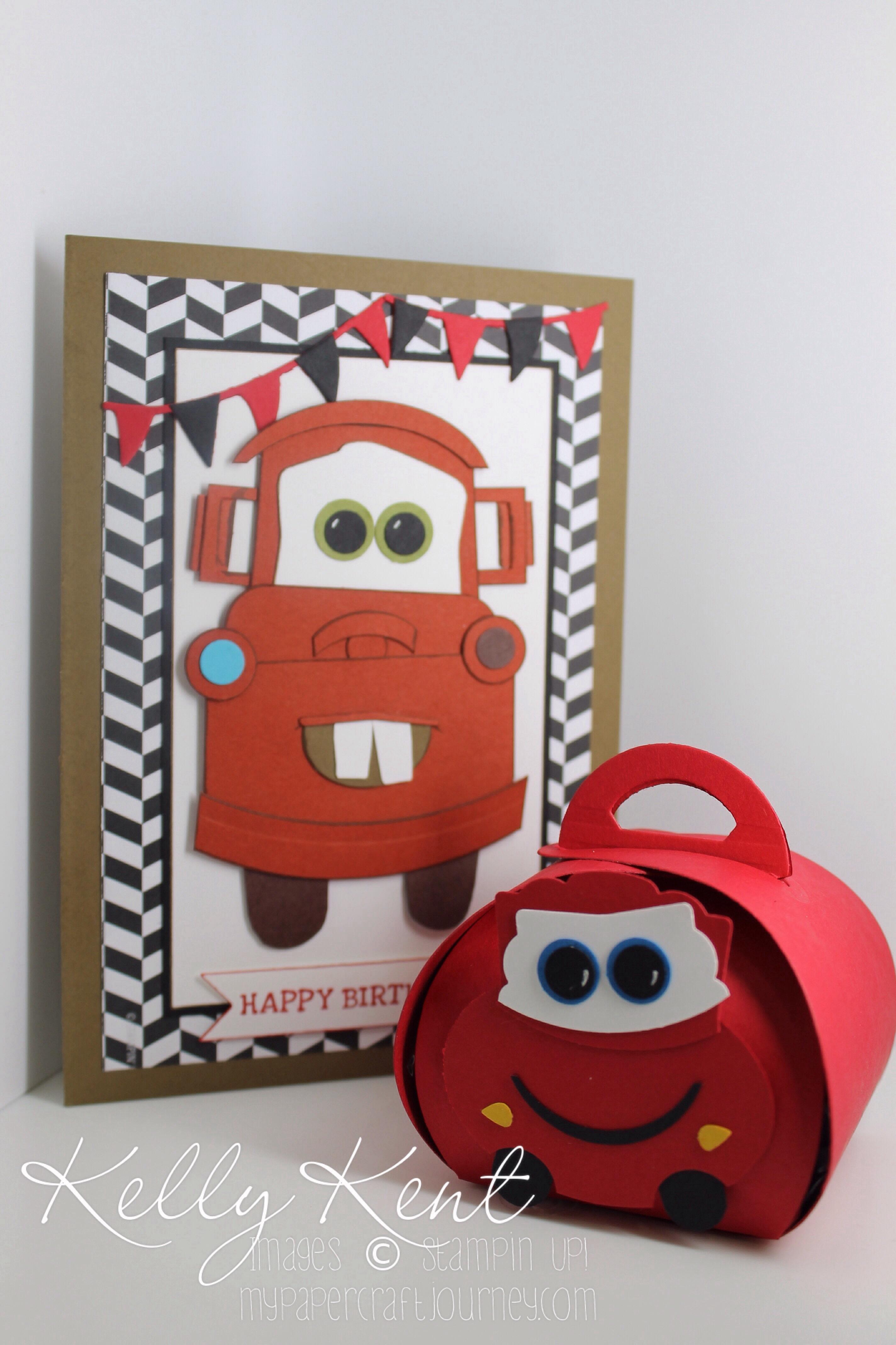 VIP Pit Pass Mater Birthday Card Lightning Mcqueen Curvy – Lightning Mcqueen Birthday Card