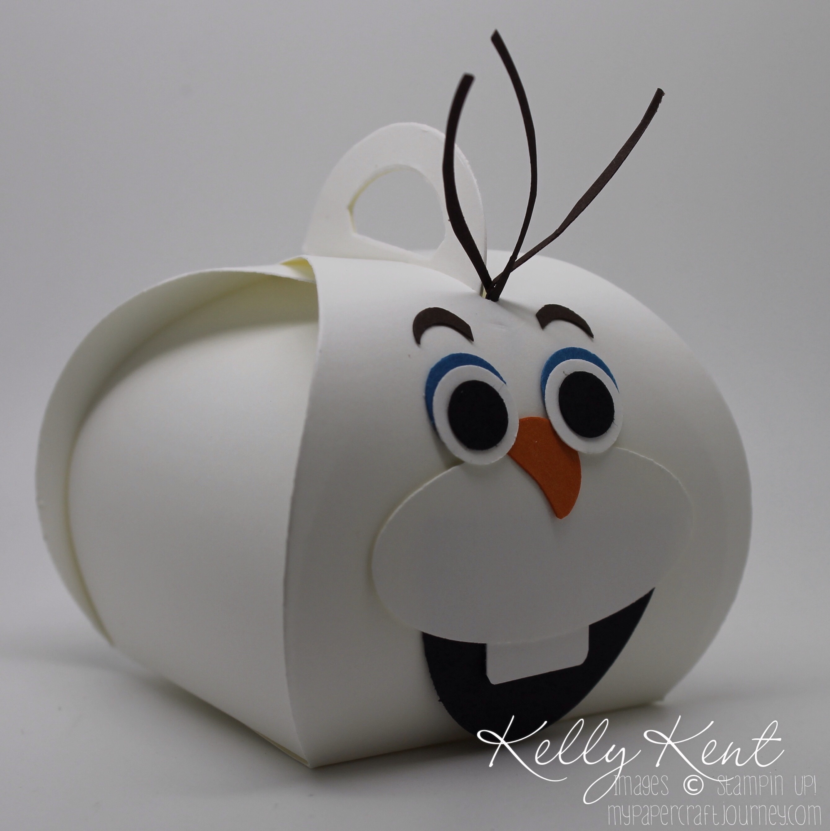 Olaf Curvy Keepsake Box