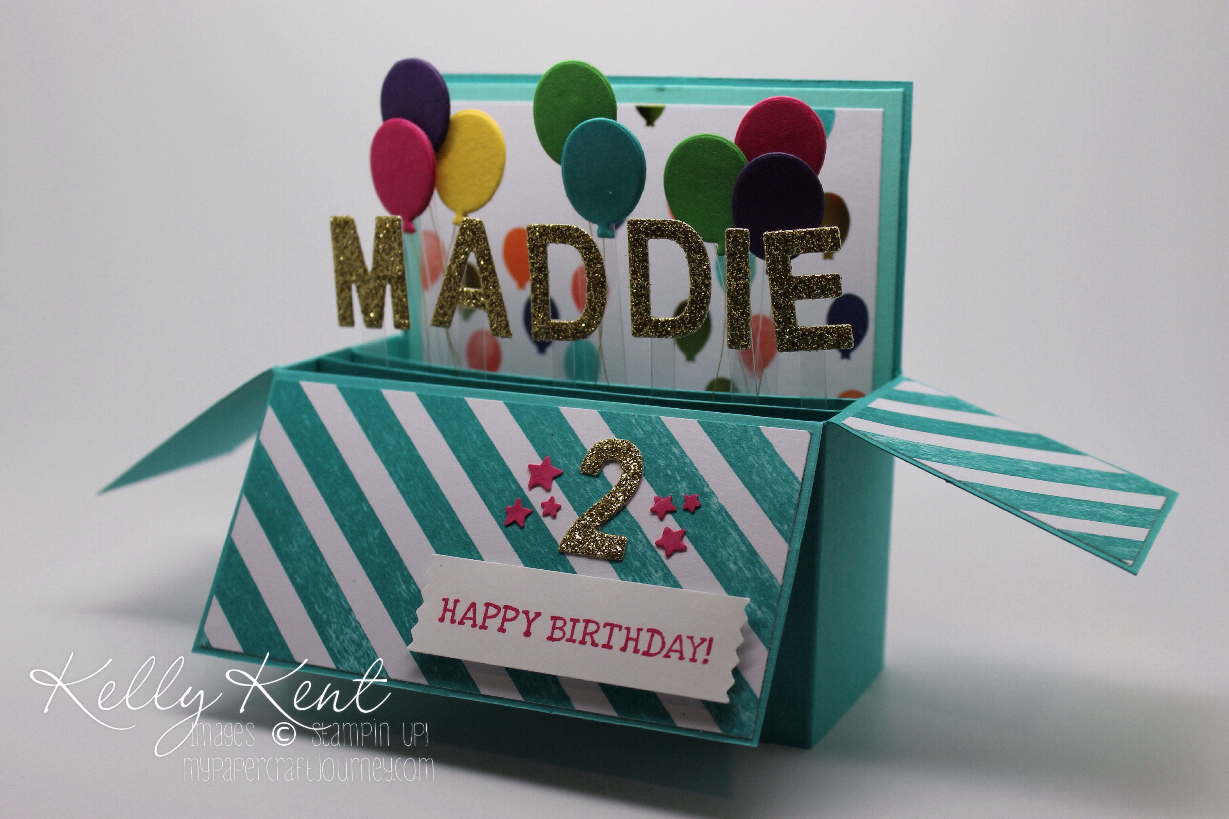 Birthday Wishes to the Cheeky Miss Papercraft kelly kent – Papercraft Birthday Card