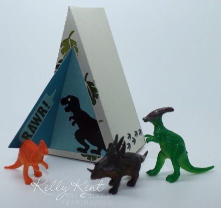 Dinosaur Cave Cutie Pie Thinlits (including triangle shape) No Bones About It Stamp Set