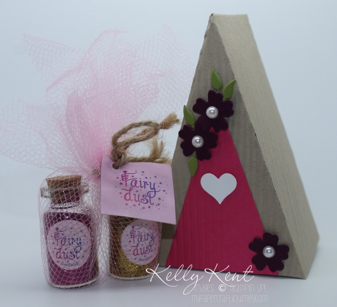 Fairy House  Cutie Pie Thinlits (including flower & candle)