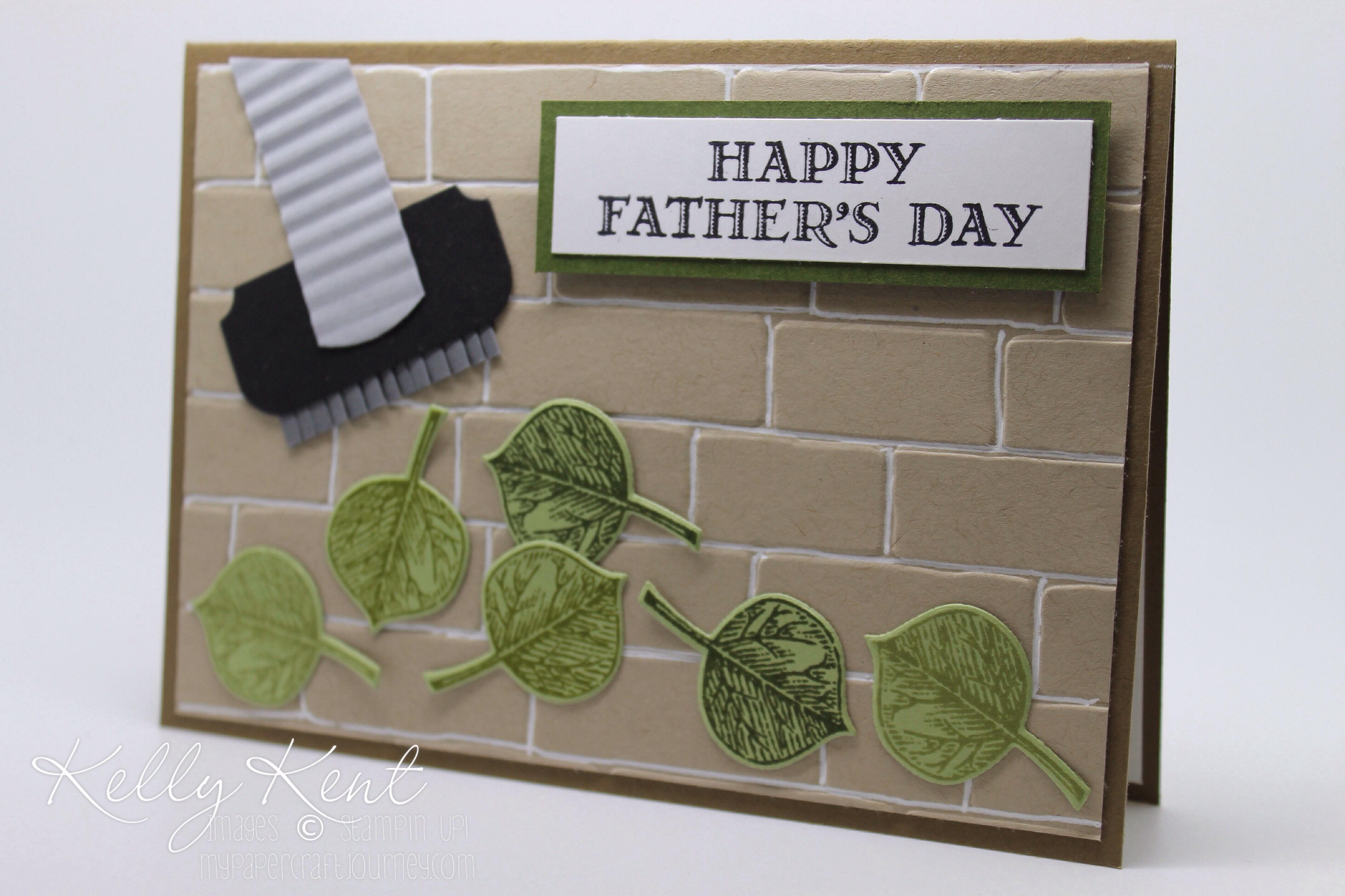 For Grandad Papercraft