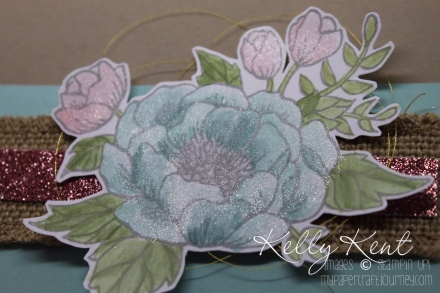 Just Add Ink - Nature. Birthday Blooms stamp set. Kelly Kent - mypapercraftjourney.com.