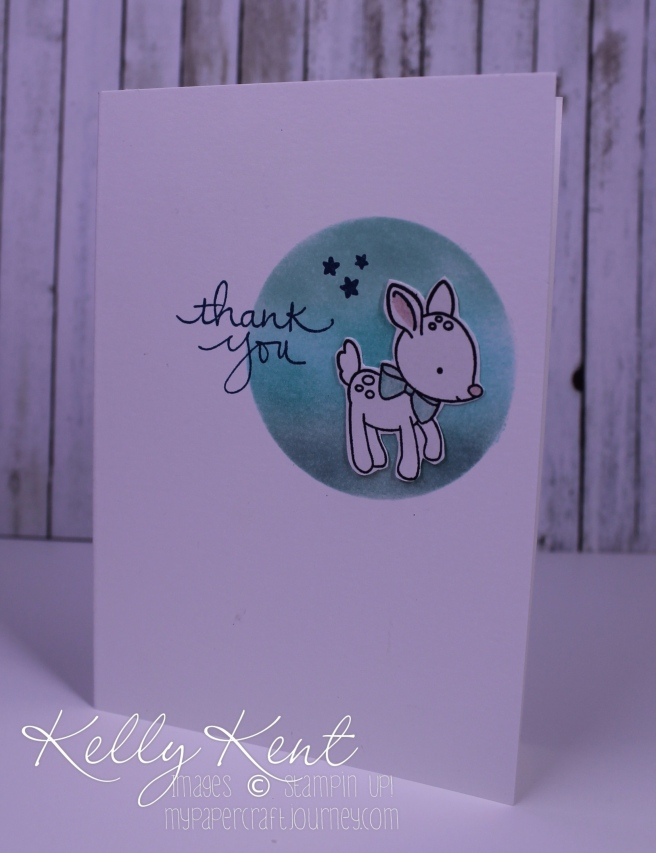 Stamp Review Crew - Made With Love. Thank You card set. Kelly Kent - mypapercraftjourney.com.