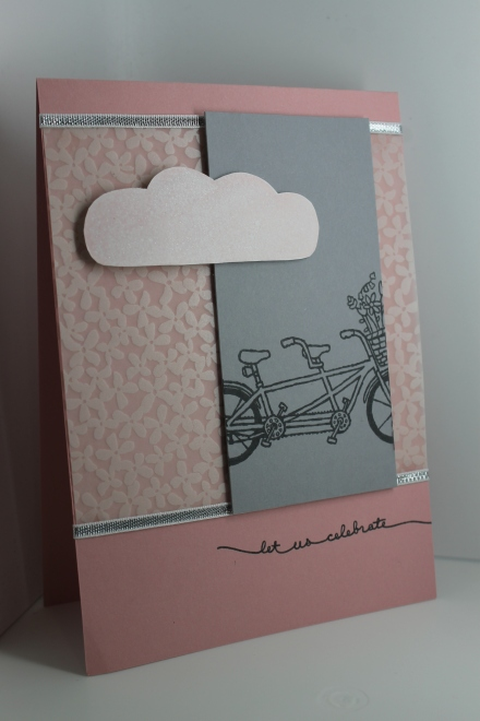 Sale-A-Bration Duo: Pedal Pusher stamp set & Botanical Gardens vellum. Kelly Kent - mypapercraftjourney.com.