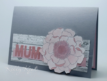 Stamp Review Crew - Blended Bloom Mother's Day Project Set. Kelly Kent - mypapercraftjourney.com.