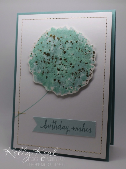 JAI#310 & GDP#034 - Sketch Inspired. Gorgeous Grunge Dandelion Birthday Card. Kelly Kent - mypapercraftjourney.com.
