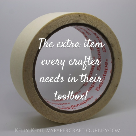 The extra item every crafter needs in their toolbox. Kelly Kent - mypapercraftjourney.com.