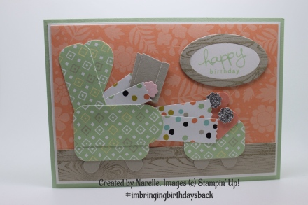 Created by Narelle for Kelly Kent - mypapercraftjourney.com. #imbringingbirthdaysback