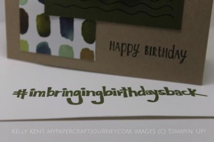 Happy Birthday Shannon West #imbringingbirthdaysback. Kelly Kent - mypapercraftjourney.com.