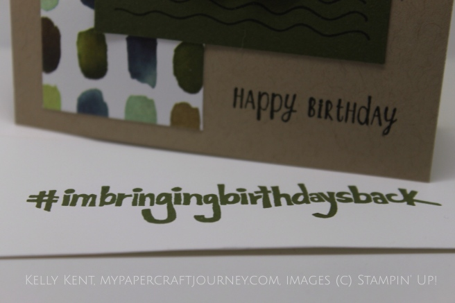 Happy Birthday Shannon West #imbringingbirthdaysback. Kelly Kent - mypapercraftjourney.com.