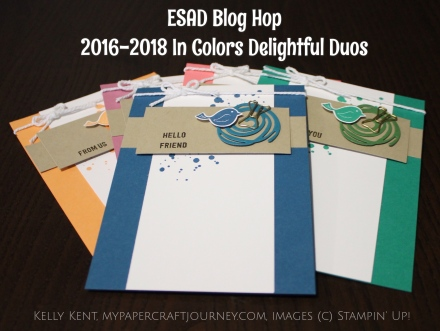 ESAD 2016-17 Annual Catalogue Blog Hop - Delightful Duos . Swirly Bird/Scribbles & Thoughtful Banners. Kelly Kent - mypapercraftjourney.com