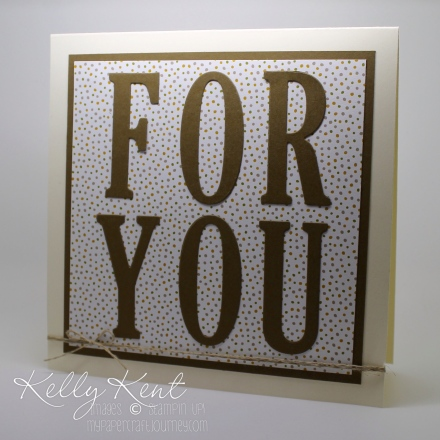 Large Letters Framelits - how to line them up using vellum (plus 5 bonus tips on how to save money when buying the bundle!). Kelly Kent - mypapercraftjourney.com.