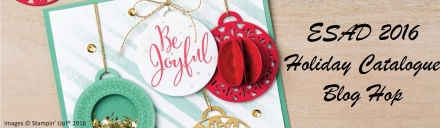 2016 Holiday Catalogue Blog Hop Header