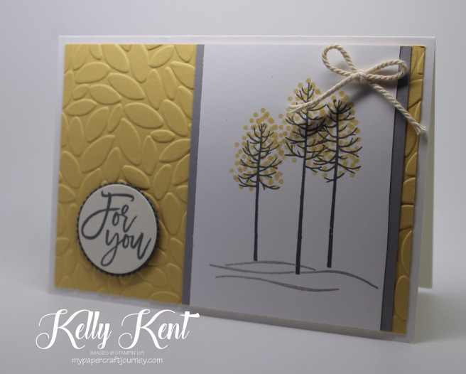 Thoughtful Branches | Kelly Kent - mypapercraftjourney.com