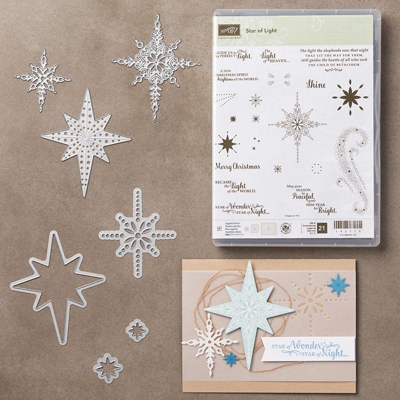 Star of Light & Starlight bundle. Images © Stampin' Up!