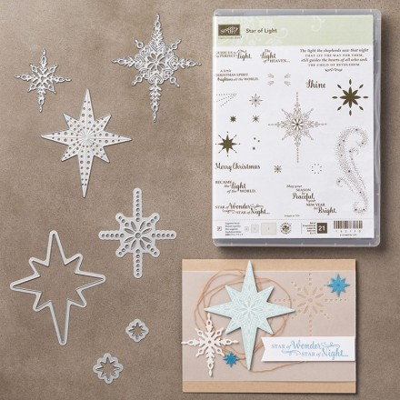 Star of Light & Starlight bundle. Images © Stampin' Up!