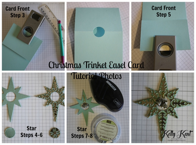 ESAD Blog Hop - 2016 Holiday Catalogue. Christmas Trinket Easel Card - with full instructions . Kelly Kent - mypapercraftjourney.com.
