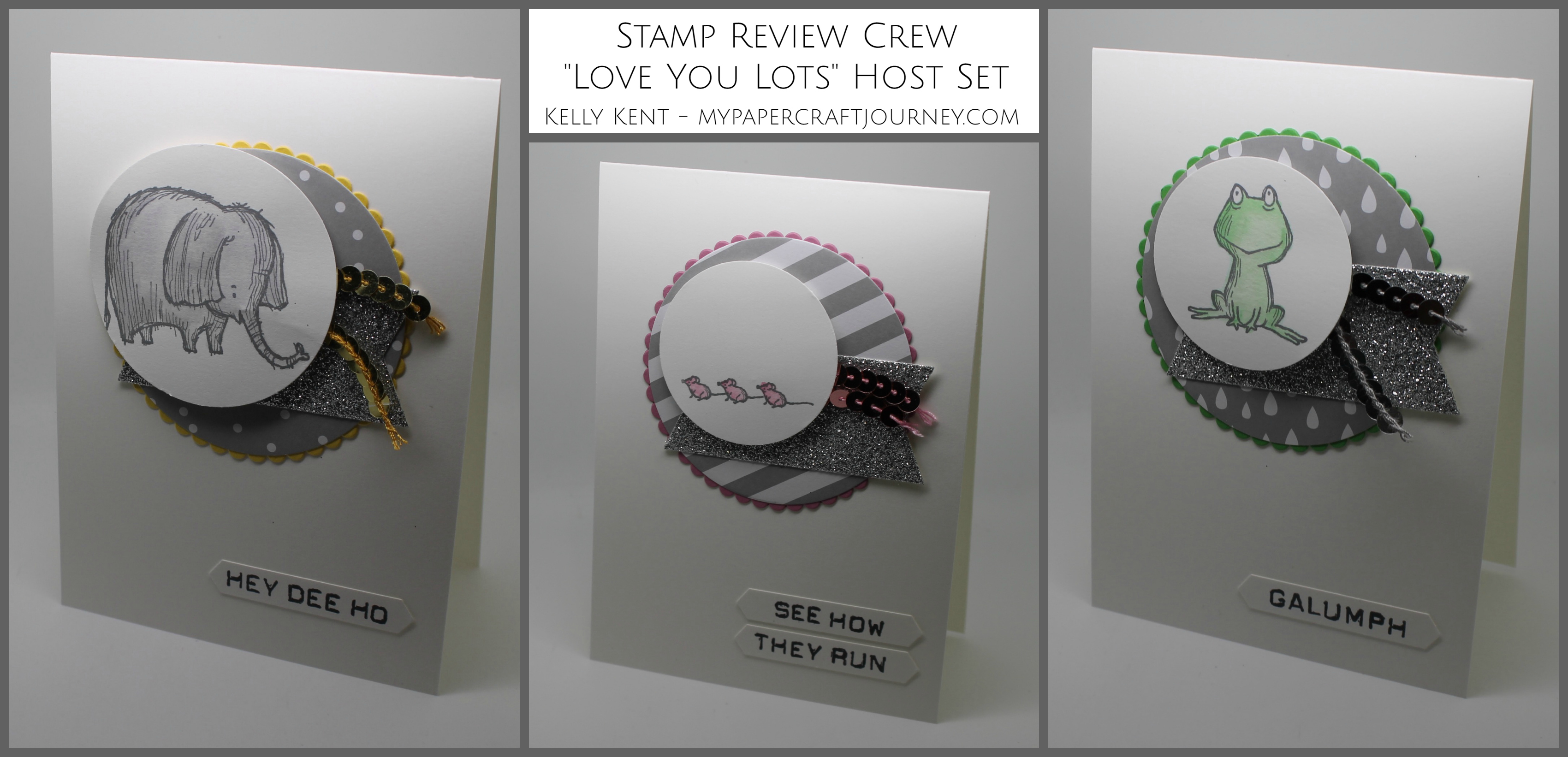 Stamp Review Crew - Love You Lots Host stamp set. Nursery Rhyme Set. Kelly Kent - mypapercraftjourney.com.
