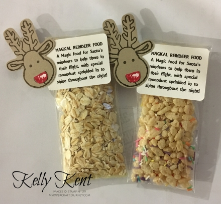 Magical Reindeer Food. Kelly Kent - mypapercraftjourney.com.