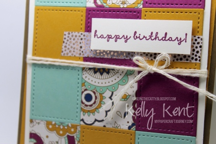 CASEing the Catty #104 - Petals & Paisleys. Kelly Kent - mypapercraftjourney.com.