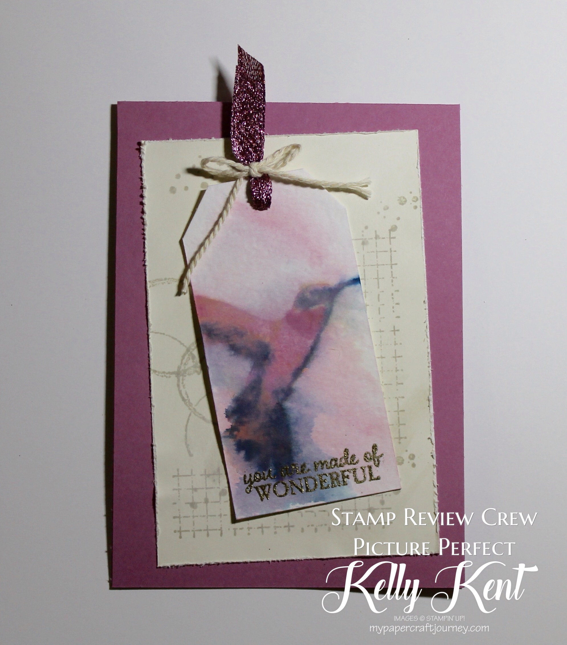 Stamp Review Crew - Picture Perfect. Kelly Kent - mypapercraftjourney.com.