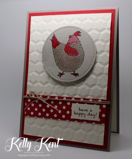 Occasions & SAB 2017 Sneak Peek... Hey, Chick! Kelly Kent - mypapercraftjourney.com.
