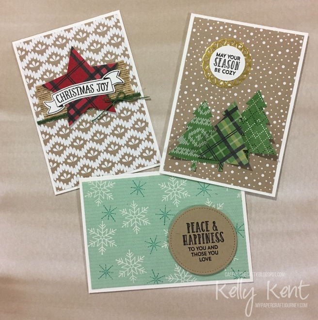 CASEing the Catty #108 Holiday Kits. Kelly Kent - mypapercraftjourney.com.