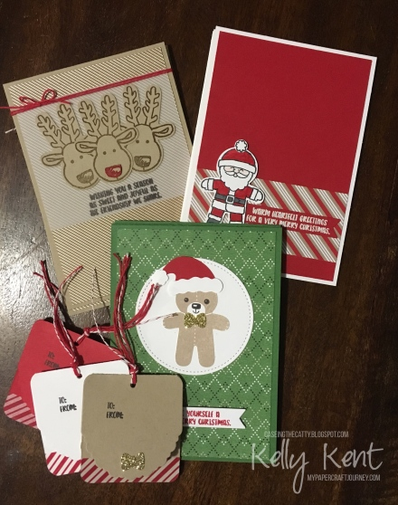 CASEing the Catty #107 - Favourite Holiday Punch Bundle. Kelly Kent - mypapercraftjourney.com.
