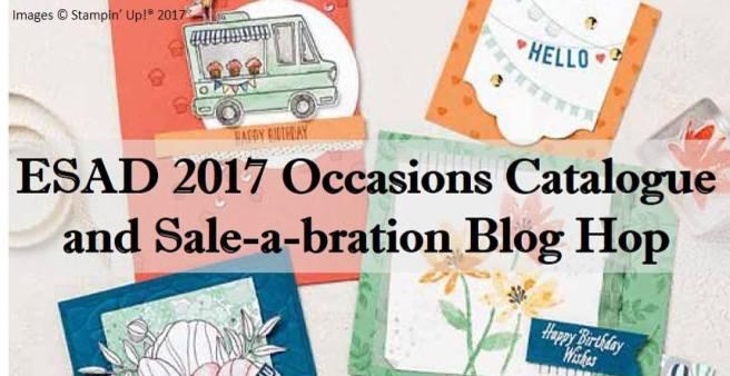 ESAD Blog Hop - 2017 Occasions Catalogue