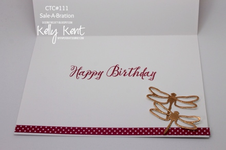 CASEing the Catty #111 - Sale-A-Bration. Kelly Kent - mypapercraftjourney.com.