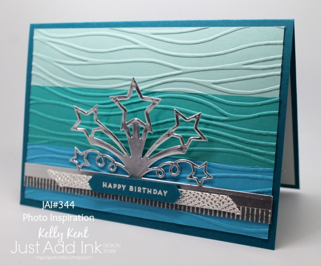 Just Add Ink #344 - Photo Inspiration. Kelly Kent - mypapercraftjourney.com.