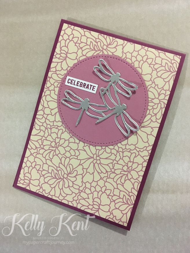 Occasions 2017 - Falling in Love DSP. Kelly Kent - mypapercraftjourney.com.