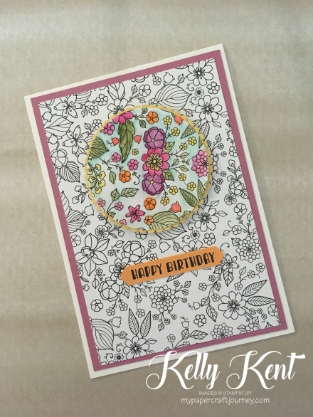 Inside the Lines DSP - Spotlight technique.  Kelly Kent - mypapercraftjourney.com.