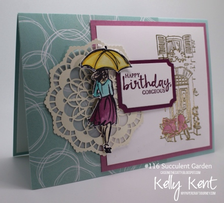 CASEing the Catty #116 - Beautiful You & Mediterranean Moments. Kelly Kent - mypapercraftjourney.com.