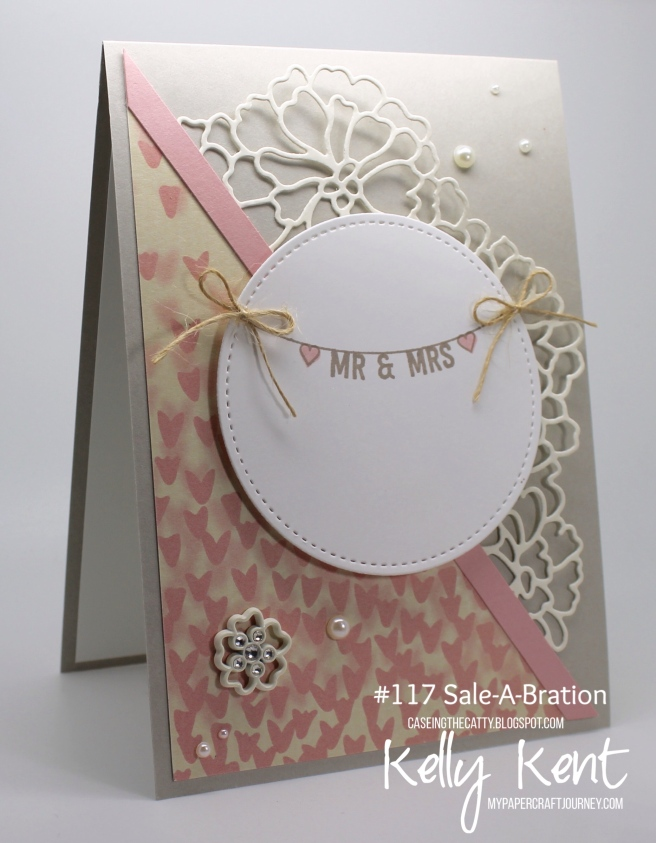CASEing the Catty #117 - Sale-A-Bration. Kelly Kent - mypapercraftjourney.com.