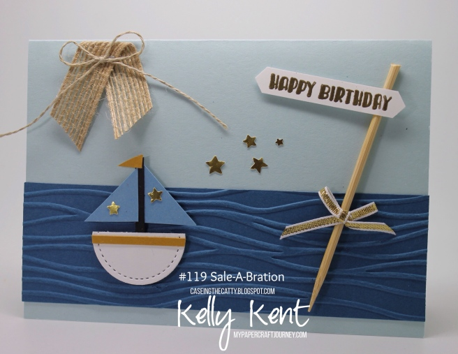 CASEing the Catty #119. Sale-A-Bration. Kelly Kent - mypapercraftjourney.com.