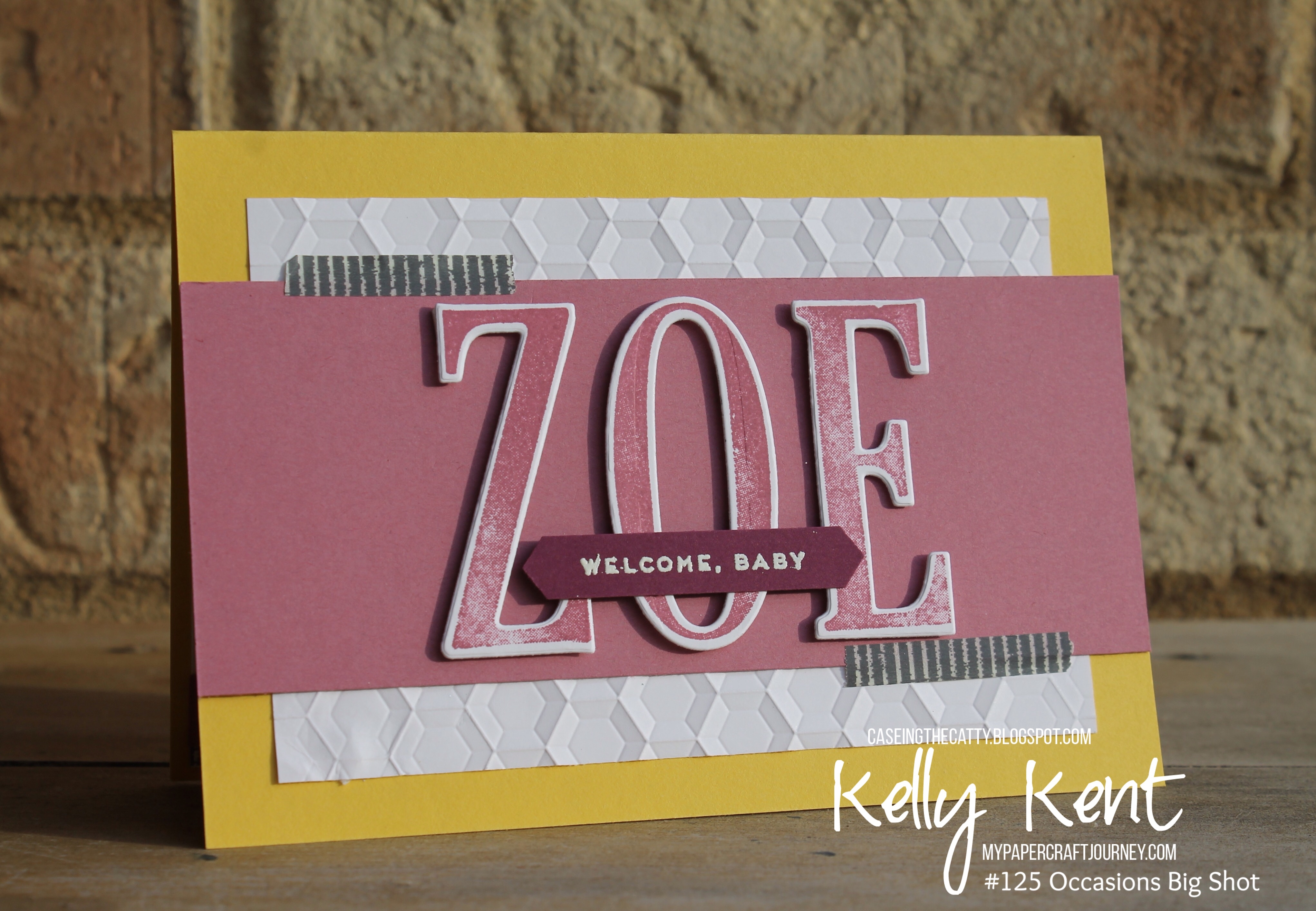 CASEing the Catty #125 Occasions Big Shot Projects | Kelly Kent mypapercraftjourney.com