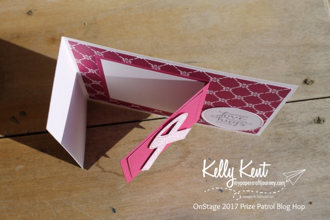 OnStage 2017 Paper Adventures Prize Patrol Blog Hop | Kelly Kent mypapercraftjourney.com