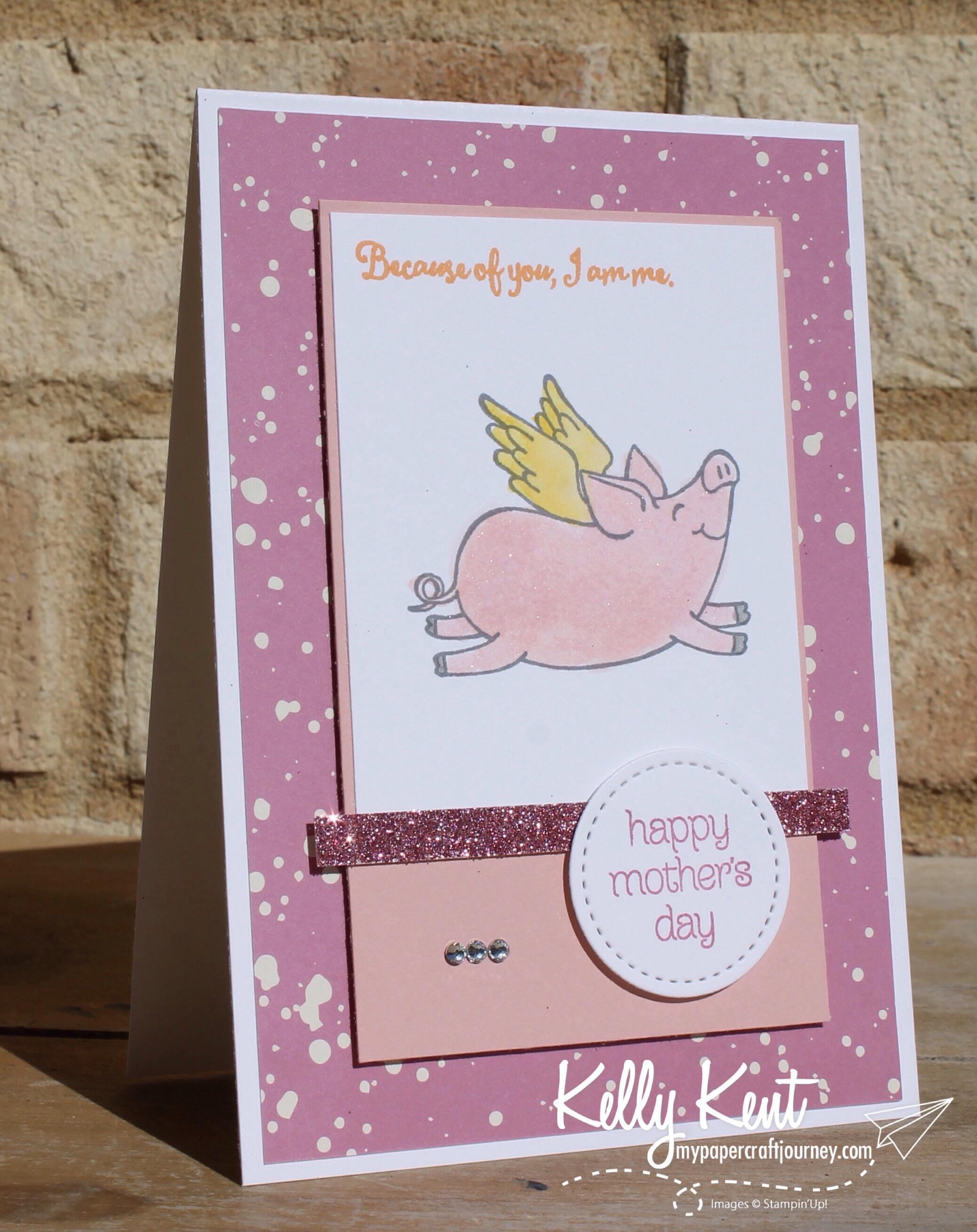 This Little Piggy | kelly kent mypapercraftjourney.com