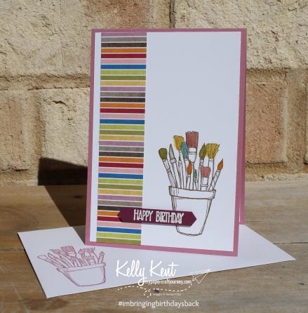 Crafting Forever #imbringingbirthdaysback | Kelly Kent