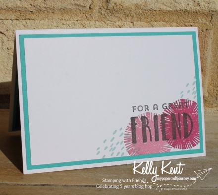 Stamping with Friends blog hop | kelly kent