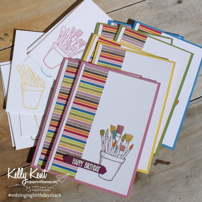 Crafting Forever #imbringingbirthdaysback | Kelly Kent