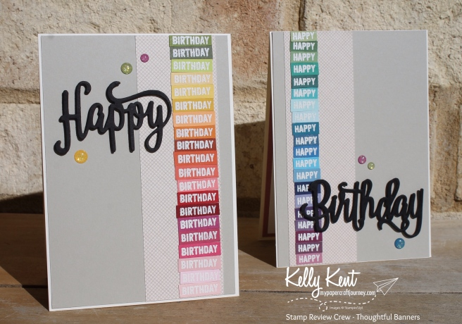 Stamp Review Crew - Thoughtful Banners | kelly kent