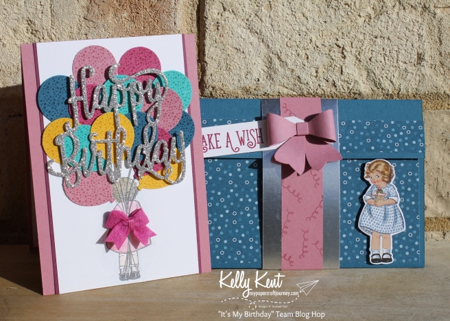 It's My Birthday Team Blog Hop | kelly kent